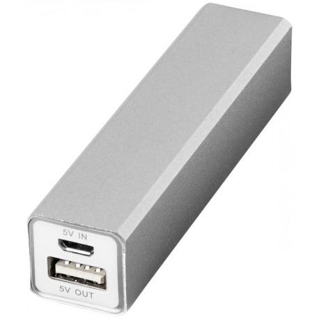 Power Bank / Chargeur 2 200 mAH Carré